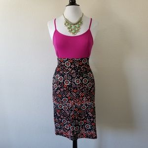 LuLaRoe Patterned Midi Skirt 3XL (NWT)